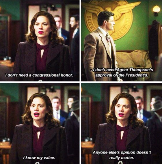 agent carter i know my value