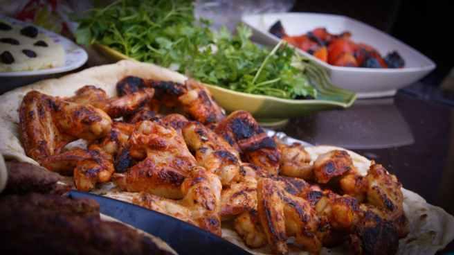 food restaurant meal chicken